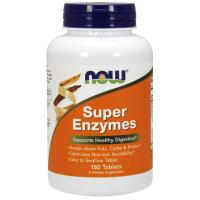 NOW Supplements, Super Enzymes, Formulated with Bromelain, Ox Bile, Pancreatin and Papain, Super Enz…