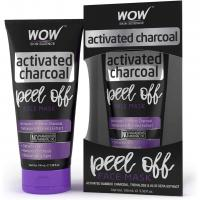 Activated Charcoal Face Mask by WOW - Peel Off - No Parabens & Mineral Oils (60mL)